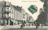 """90 Territoire De Belfort CPA FRANCE 90 """" Belfort, Avenue de la gare"""""""