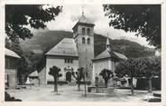 """74 Haute Savoie CPSM FRANCE 74 """"Sallanches, Place de l'église"""""""