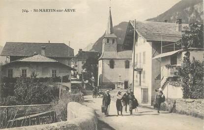 """CPA FRANCE 74 """"Saint Martin sur Arve"""""""