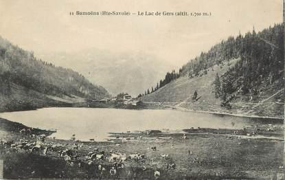 """CPA FRANCE 74 """"Samoëns, Le lac de Gers"""""""
