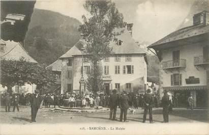 "CPA FRANCE 74 "" Samoëns, La Mairie"""