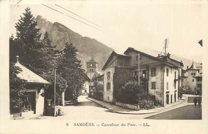 """CPA FRANCE 74 """" Samoëns, Carrefour du parc"""""""