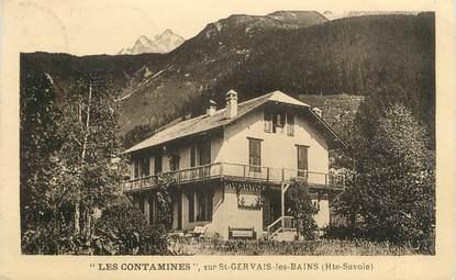 """CPA FRANCE 74 """" Les Contamines sur St Gervais"""""""