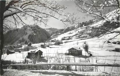 """CPSM FRANCE 74 """" Les Contamines, Les chalets du Mont Blanc Renaître et Montjoie"""""""