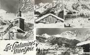 """74 Haute Savoie CPSM FRANCE 74 """" Les Contamines Montjoie, Vues"""""""