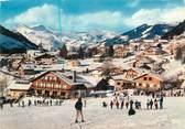 """74 Haute Savoie CPSM FRANCE 74 """" Les Contamines Montjoie, Vue du centre de la station depuis les pistes des Loyers"""""""