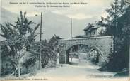 """74 Haute Savoie CPA FRANCE 74 """" St Gervais les Bains, Chemin de fer à crémaillère et le viaduc"""""""