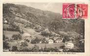 """74 Haute Savoie CPA FRANCE 74 """" St Gervais les Bains, Départ du train du Mont Blanc"""""""