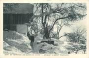 """74 Haute Savoie CPA FRANCE 74 """" St Gervais les Bains, Chalet à Mont Paccard sous la neige"""""""