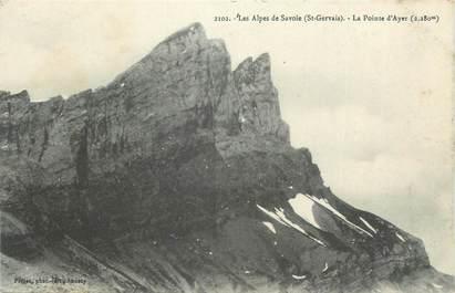 """CPA FRANCE 74 """" St Gervais les Bains, La Pointe d'Ayer"""""""