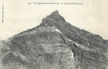 """CPA FRANCE 74 """" St Gervais les Bains, La Pointe de Platé"""""""