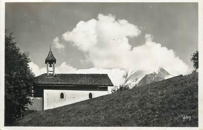 """CPSM FRANCE 74 """"Environs de St Gervais les Bains, La Chapelle du Mont Carmel"""""""
