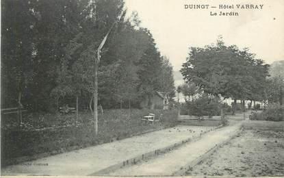 """CPA FRANCE 74 """" Duingt, Le jardin de L'Hôtel Varray"""""""
