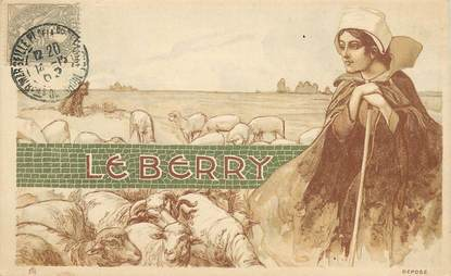 """CPA FRANCE 18 """"Le Berry"""""""