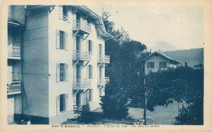 """CPA FRANCE 74 """" Duingt, L'Hôtel du Lac"""""""