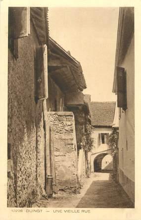 """CPA FRANCE 74 """" Duingt, Une vieille rue"""""""
