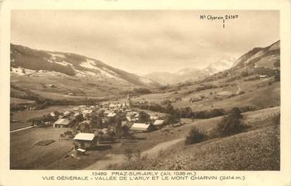"""CPA FRANCE 74 """" Praz sur Arly, Vue générale"""""""