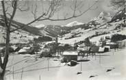 """74 Haute Savoie CPSM FRANCE 74 """" Praz sur Arly, Vue générale et le Mont Charvin"""""""