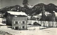 """74 Haute Savoie CPSM FRANCE 74 """" Praz sur Arly, Les Châteaux et Rochebrune"""""""