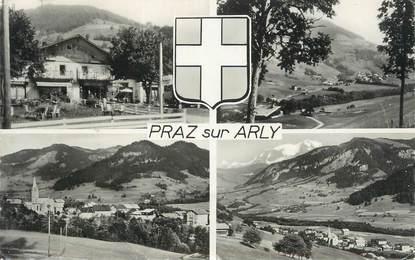 """CPSM FRANCE 74 """" Praz sur Arly, Vues"""""""