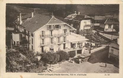 "CPA FRANCE 74 "" Passy, Le village"""
