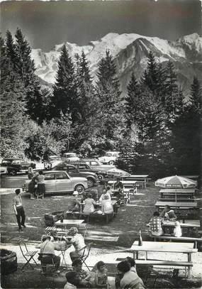 """CPSM FRANCE 74 """" Passy - Assy, La terrasse du Chalet du Lac Vert'"""