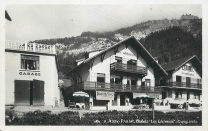 """CPSM FRANCE 74 """" Assy, - Passy, Chalets Les Edelweiss"""""""