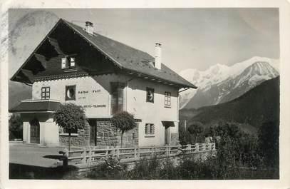 """CPSM FRANCE 74 """" Assy ,La Poste et la Chaîne du Mont Blanc"""""""