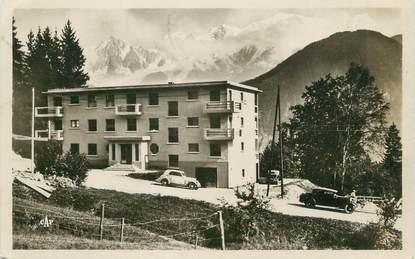 """CPSM FRANCE 74 """" Assy , Le Faucigny et le Mont Blanc"""""""