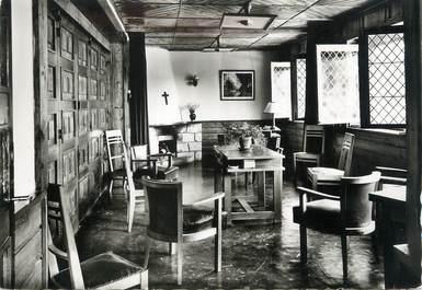 """CPSM FRANCE 74 """" Assy , Le foyer de la Chapelle protestante'"""