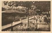 """74 Haute Savoie CPA FRANCE 74 """" Sevrier, La terrasse de l' Hôtel Beau Site"""" / USAGE TARDIF"""