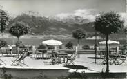"""74 Haute Savoie CPSM FRANCE 74 """" Sevrier, La terrasse de l'Hôtel du Crêt"""""""