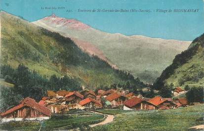 "CPA FRANCE 74 "" Bionnassay, Le village"""