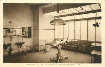 """CPA FRANCE 74 """" Sancellemoz, Salle d'opération de la Clinique"""""""