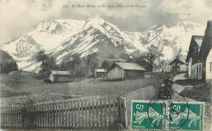 """CPA FRANCE 74 """"St Nicolas de Véroce, Le Mont Blanc"""""""