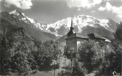 """CPSM FRANCE 74 """"St Nicolas de Véroce, Le Dôme de Miage"""""""