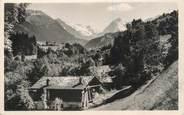"""74 Haute Savoie CPSM FRANCE 74 """"St Nicolas de Véroce, Vue sur le Col du Bonhomme''"""