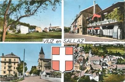 """CPSM FRANCE 74 """"Viuz en Sallaz, Vues"""""""