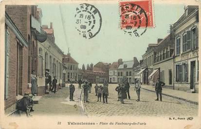 """CPA FRANCE 59 """"Valenciennes, Place du Faubourg de Paris"""""""