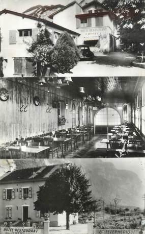 """CPSM FRANCE 74 """" Le Pas de l'Echelle, Hôtel Restaurant P. Pittet"""""""