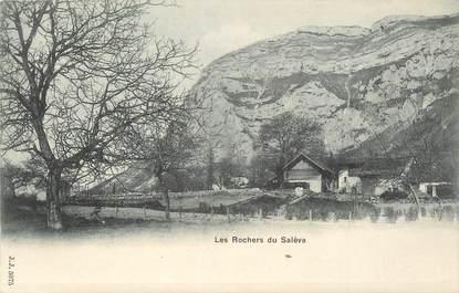 """CPA FRANCE 74 """"Le Salève, Les rochers"""""""