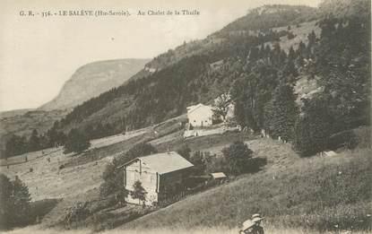 """CPA FRANCE 74 """"Le Salève, Le Chalet de la Thuile"""""""
