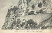 """74 Haute Savoie CPA FRANCE 74 """"Le Salève, Le chemin de fer du Salève et le Château de Monnetier"""""""