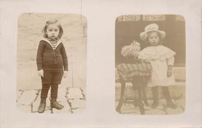 """CARTE PHOTO FRANCE 74 """"St Jeoire en Faucigny, Enfants"""""""