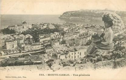 "CPA MONACO ""Monte Carlo, vue générale """