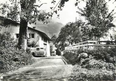"""CPSM FRANCE 74 """" Morillon, Les Miaux, Home d'enfants Bon Accueil"""""""
