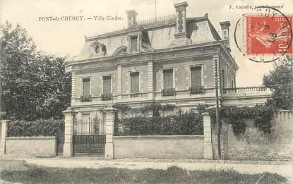 """CPA FRANCE 38 """" Pont de Chéruy, Villa Gindre"""""""