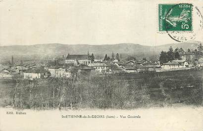 """CPA FRANCE 38 """" St Etienne de St Geoirs, Vue générale"""""""
