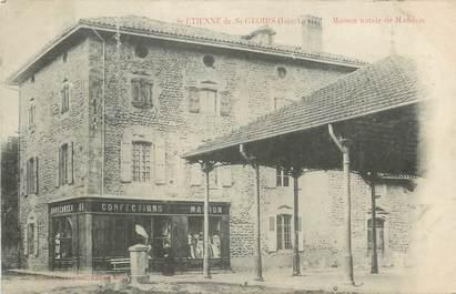 """CPA FRANCE 38 """" St Etienne de St Geoirs, Maison natale de Mandrin"""""""