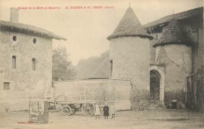 """CPA FRANCE 38 """" St Etienne de St Geoirs, Maison de la mère de Mandrin"""""""
